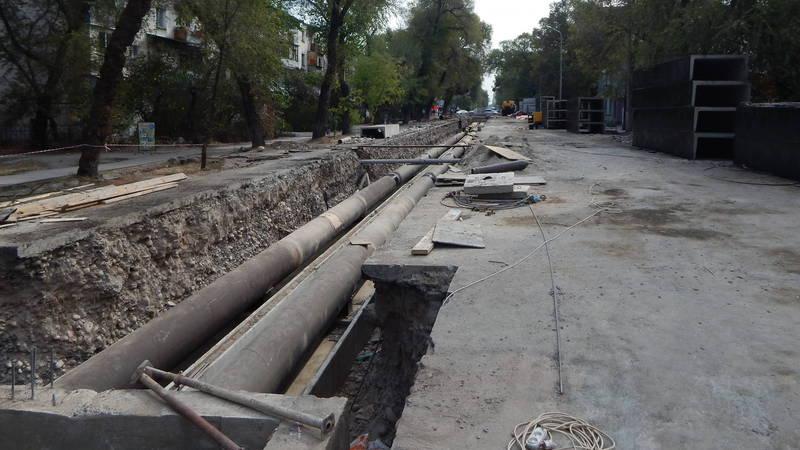 Бишкекчанин: Когда откроют улицу Токтогула? Почему ремонт затянулся?