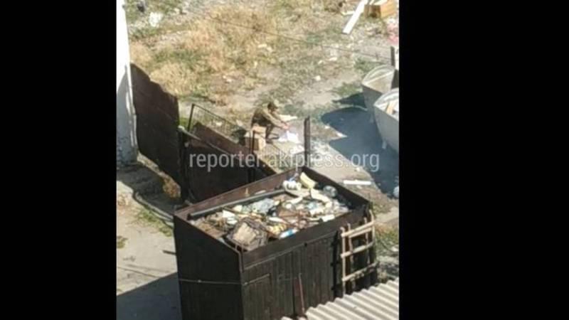 С руководством военного лицея им.Асанова была проведена разъяснительная беседа о запрете сжигания мусора, - мэрия