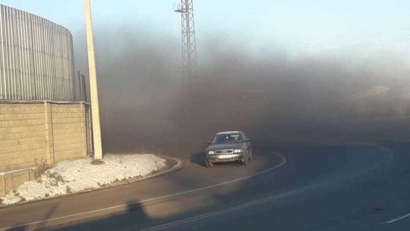 Видео — Угольная пыль в Ак-Орго создает аварийную ситуацию