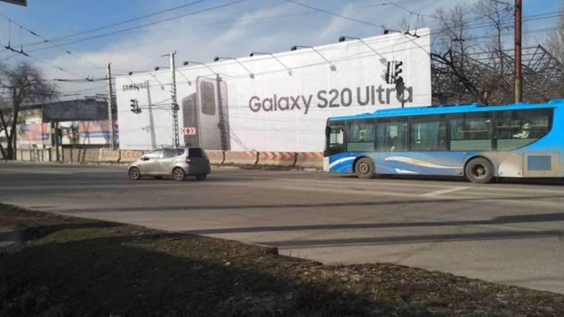 Разметка пешеходного перехода на Горького-Юнусалиева будет нанесена весной