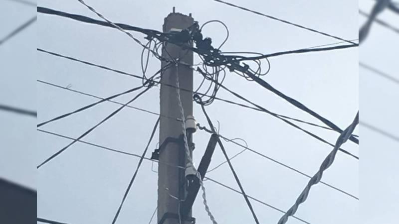 В переулке Ала-Тоо уже полтора месяца нет освещения, - бишкекчанка
