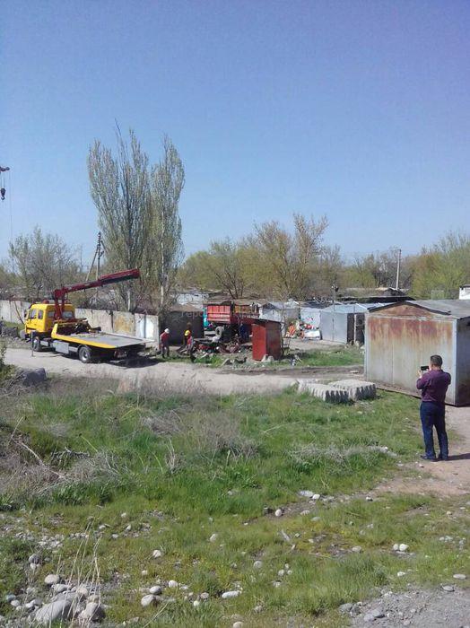 Законно ли сносят гаражи на ул.Малдыбаева в Бишкеке? - житель (фото)