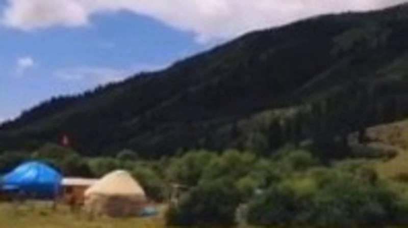 Красота природы ущелья Кырчын. Видео