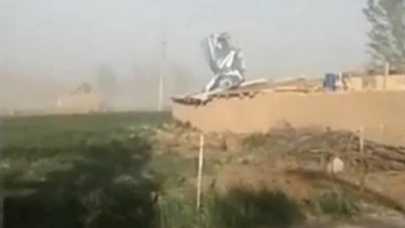 В селе Баетово ветер снес крыши домов, - местный житель. Видео
