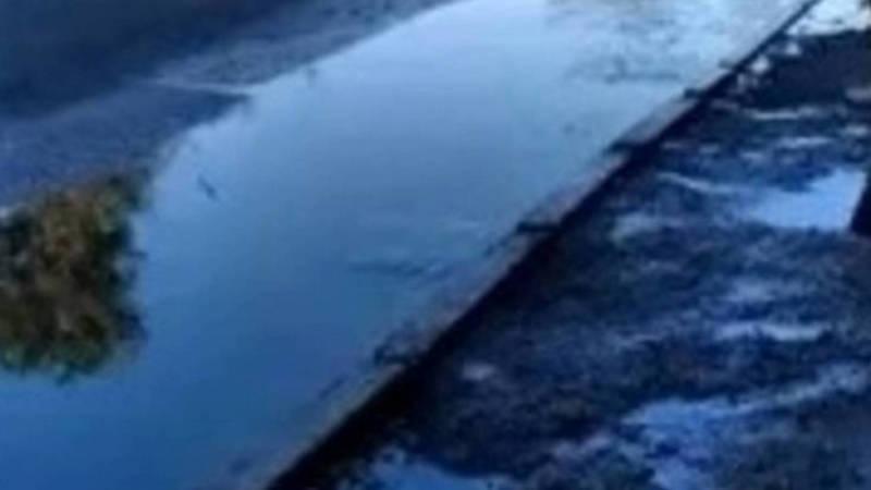 На проспекте Жибек Жолу утечка воды не обнаружена,- мэрия