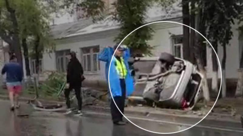 В ДТП на Байтик Баатыра пострадали два пассажира, - УПСМ
