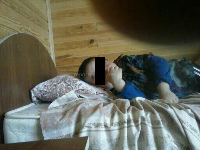 Сельме Кочорбаева собирает средства на лечение 7-летнего сына Маджита, у которого синдром Хантера (фото)