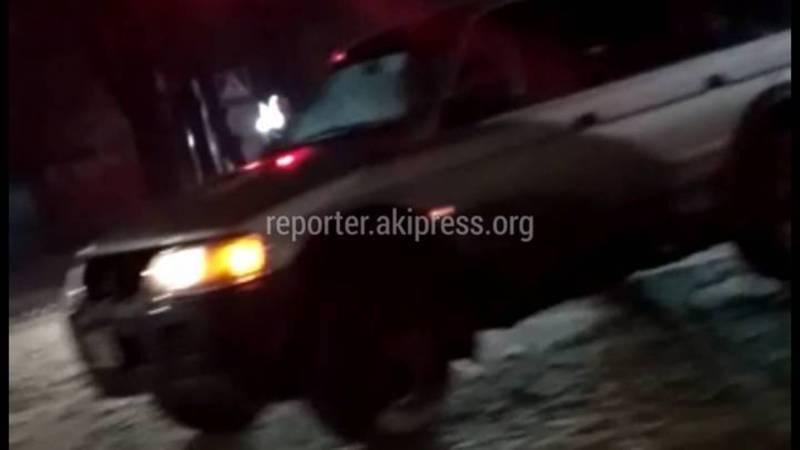 На ул.Ибраимова столкнулись 2 авто (видео)
