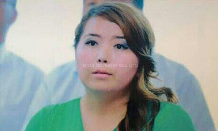 В Бишкеке пропала 21-летняя Эркайым <i>(фото)</i>