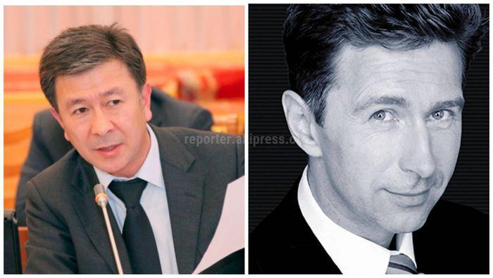 Двойники: Вице-премьер-министр А.Шадиев и российский певец В.Сюткин