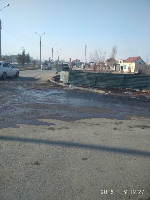 В Арча-Бешике «Тазалык» убирает мусор согласно графику <i>(фото)</i>