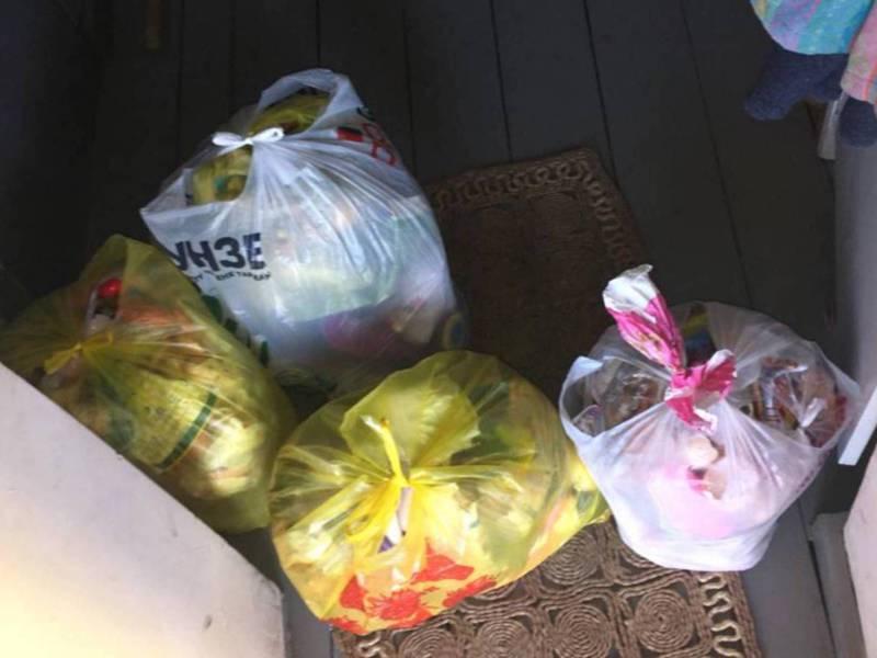 Жители села Таш-Добо жалуются на несвоевременный вывоз мусора
