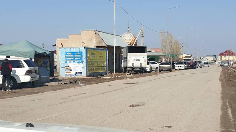 Законно ли установлен контейнер на ул.Тагай Бия в Ак-Ордо?