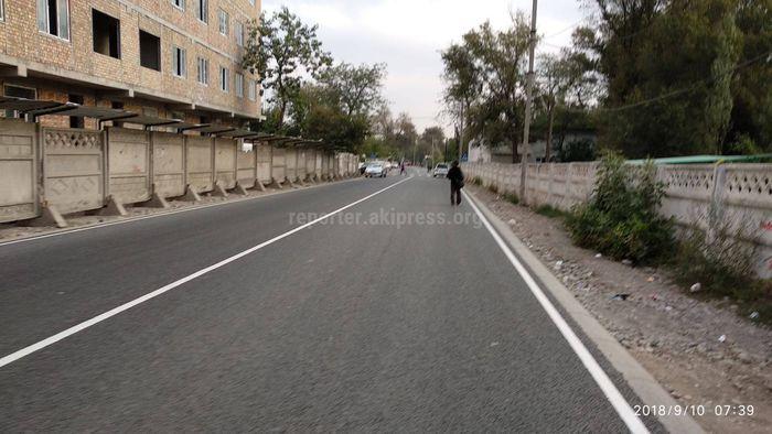 Обустройство тротуаров проектом не предусмотрено: Мэрия об отсутствии тротуара на ул.Репина