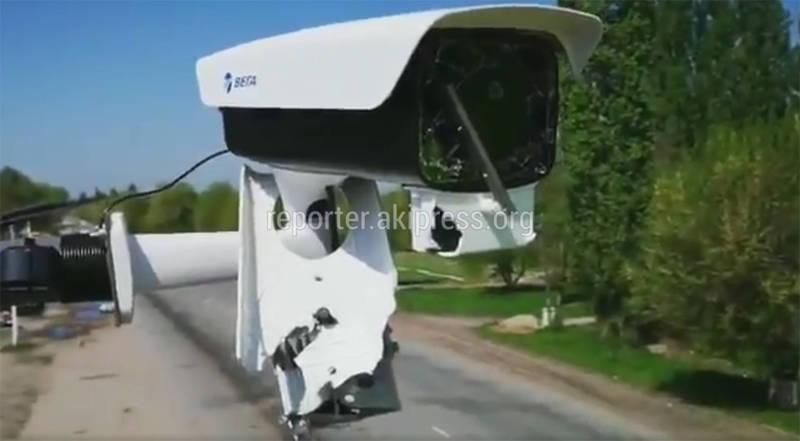 Цифровая война! В  Бишкеке расстреляли камеры безопасного города