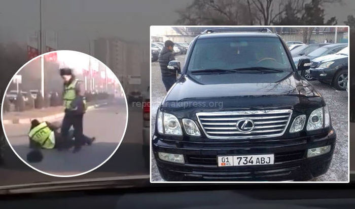 Задержанный будущий юрист, сбивший сотрудника УОБДД, ранее 11 раз привлекался за грубые нарушения ПДД <i>(новое видео наезда)</i>