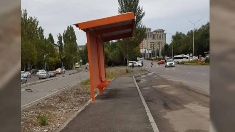 Житель столицы просит сделать дренажный слив возле остановки на Южной магистрали - Малдыбаева (фото)