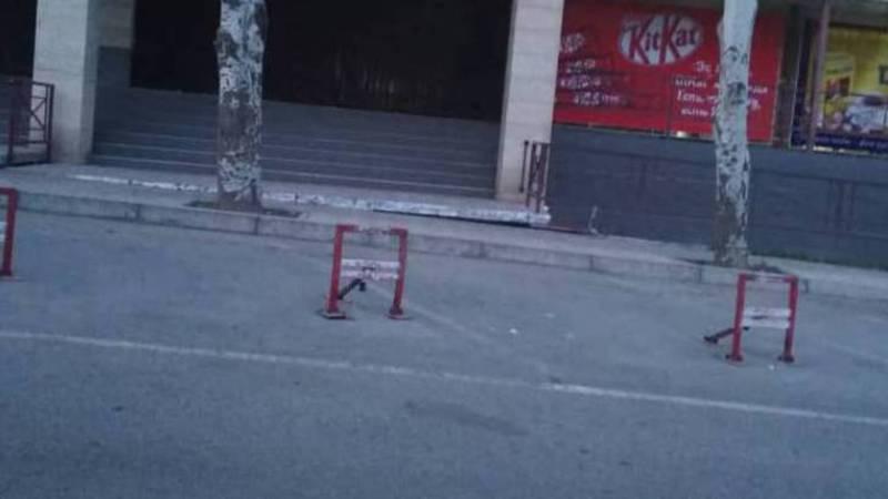 Законно ли установлены парковочные барьеры по ул.Айтиева?