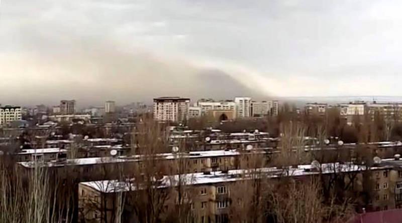 Бишкекчанин считает, что смог над городом не только от ТЭЦ, и показал это на видео