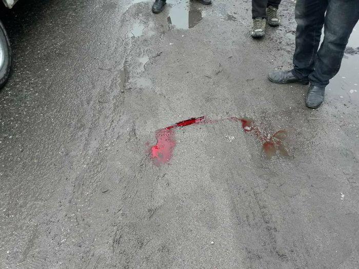В Бишкеке грузовик сбил пешехода (видео)