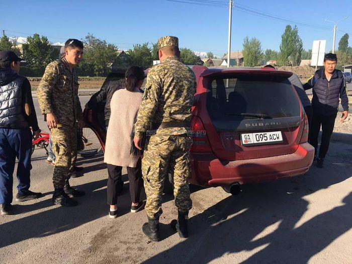 На пересечении ул.Профсоюзной и Лумумбы сбили школьницу, - очевидец (фото)