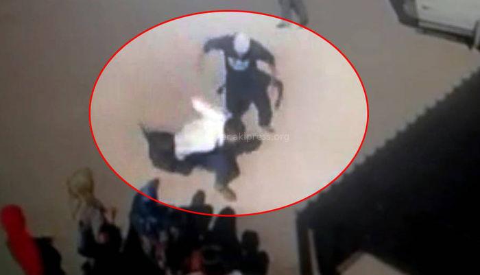 <b>Видео</b> – Убийство парня в Базар-Коргоне сняли камеры видеонаблюдения <i>(18+)</i>
