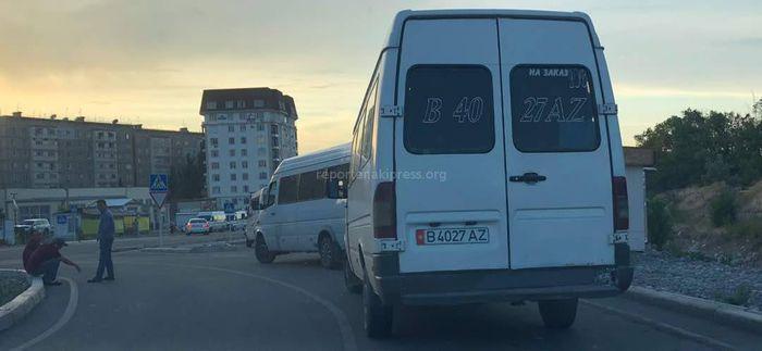 Мэрия о маршрутках, паркующихся на проезжей части в 12 мкр: Проведена профилактическая работа