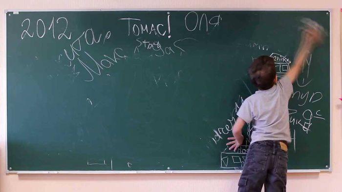 В нарынской школе учительница ударила по голове ребенка?