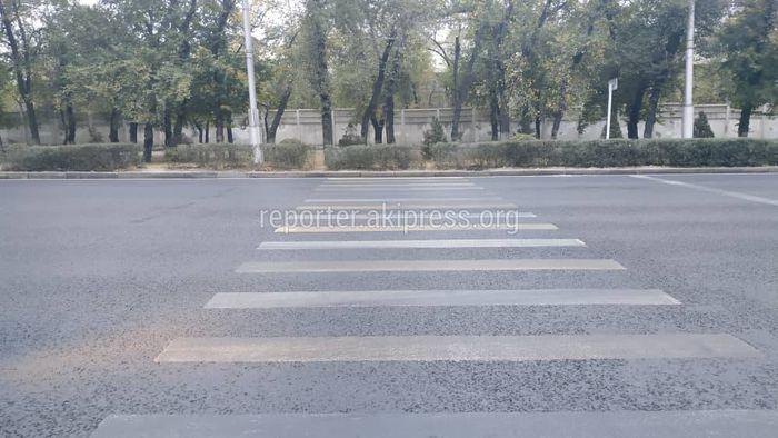 Горожанин просит устранить недочеты дорожных работ на Манаса-Горького
