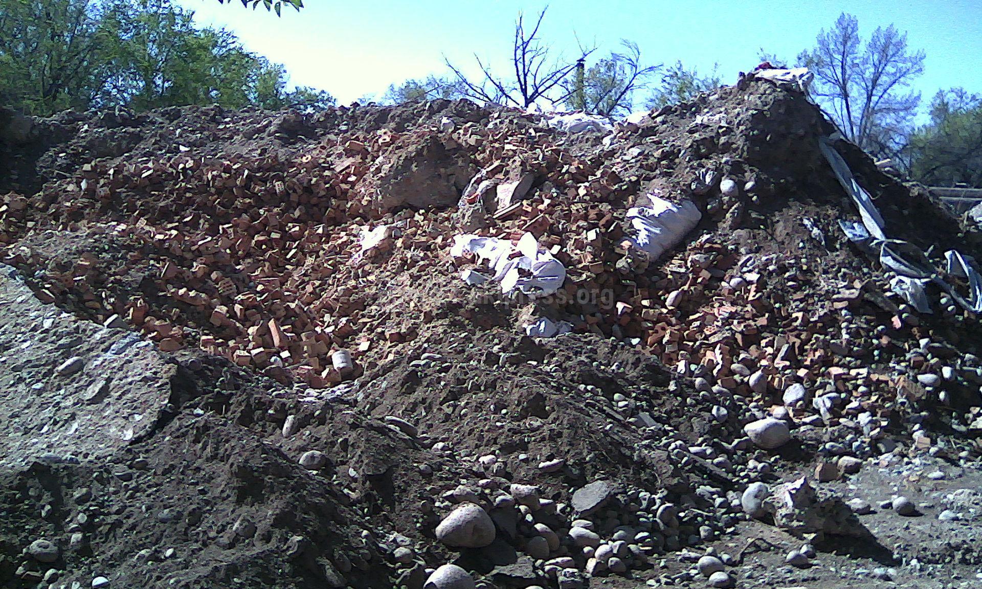 строительный отходы