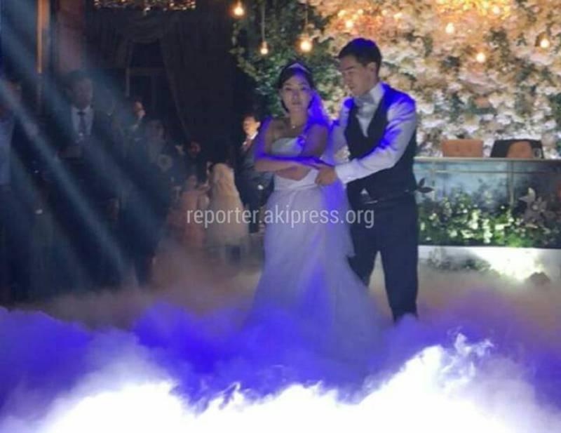 Мэр Бишкека А.Суракматов женил сына. Фото со свадьбы