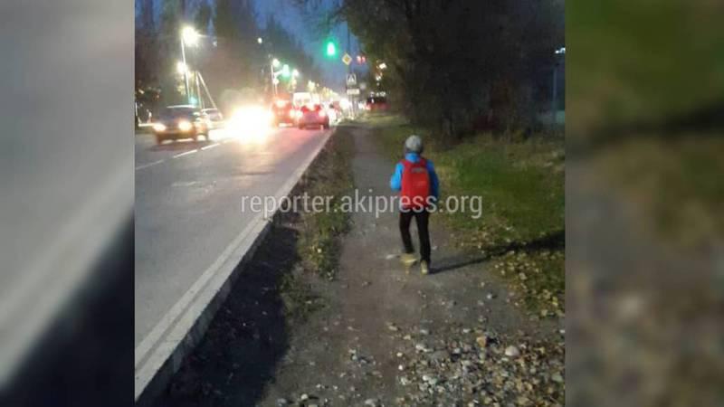 Когда появится тротуар на улице Каралаева?