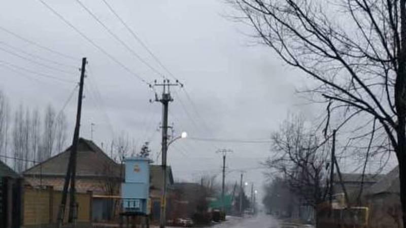 В г.Кант на ул.Пушкина горит свет уличного освещения, - местный житель (фото)