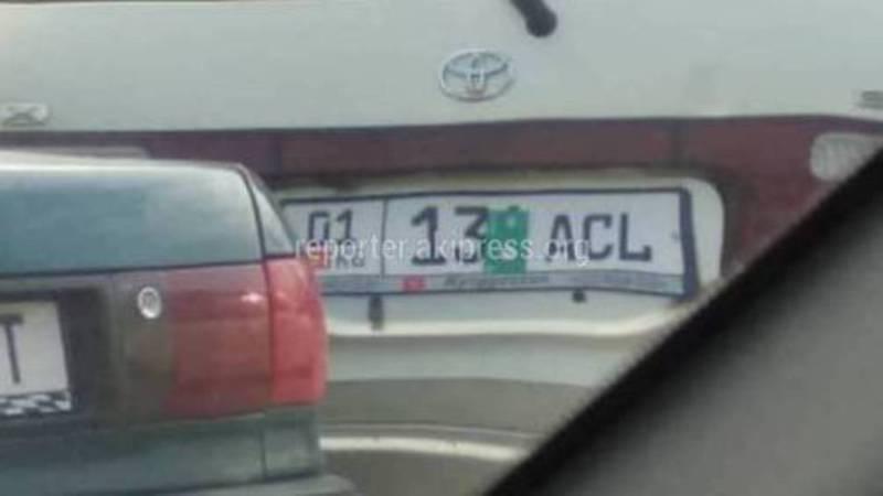 Фото — Накажут ли водителей скрывающих госномер авто?