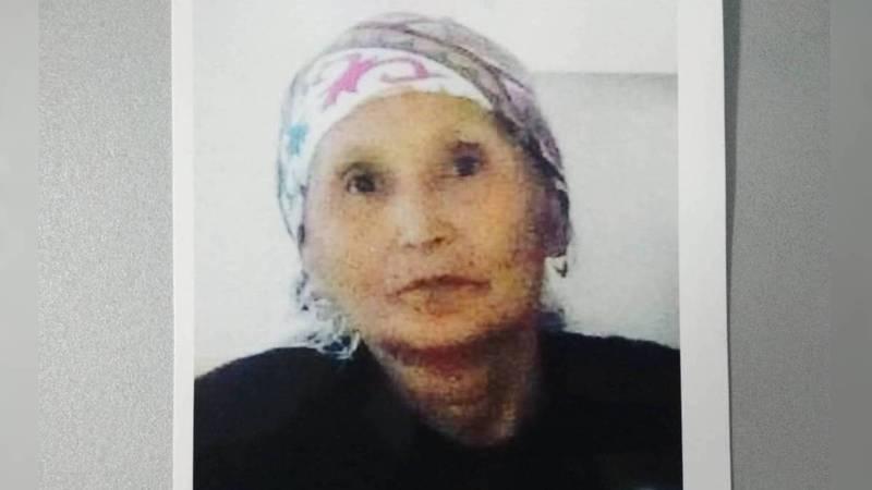 В Бишкеке ищут 58-летнюю Мухабат Тагаеву. Она страдает потерей памяти