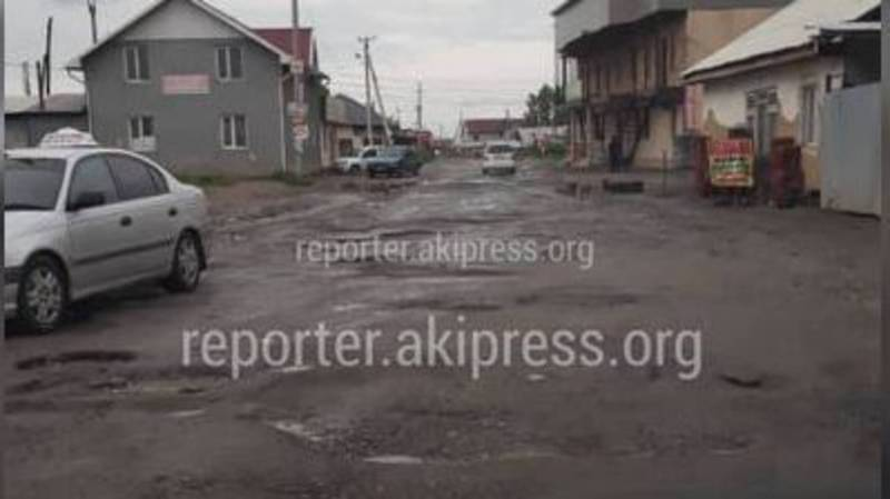 Дорога на улице Гоголя в жилмассиве Алтын-Ордо будет отремонтирована с наступлением хорошей погоды, - Сокулукская РГА