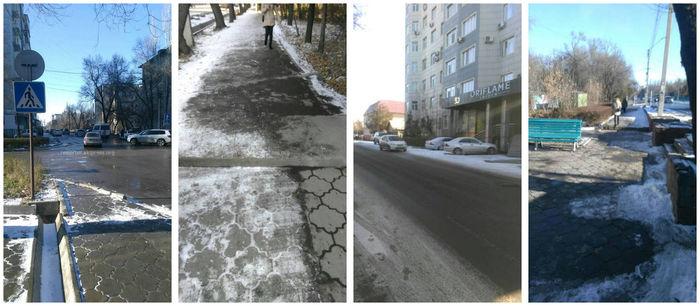 «Бишкекасфальтсервис» устранит ряд препятствий на тротуарах по ул.Боконбаева с наступлением весны