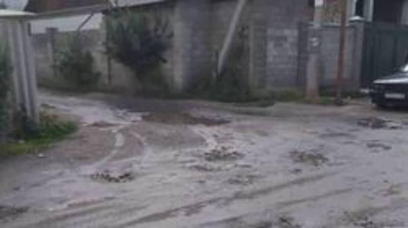 На ул. Огонбаева между улицами Курманжан Датки - Буденного ремонт дороги не предусмотрен, - мэрия