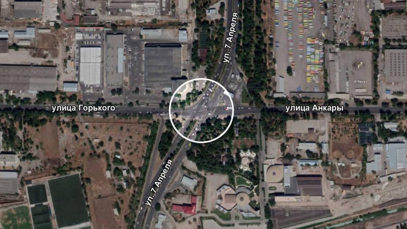 Архитектор предложил свой вариант схемы кругового движения на 7 Апреля — Горького