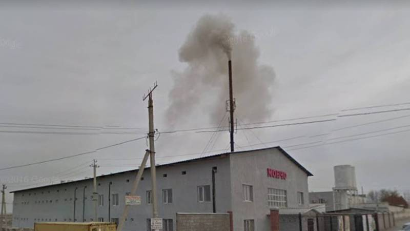 В жилмассиве Ак-Ордо баня загрязняет воздух. Видео