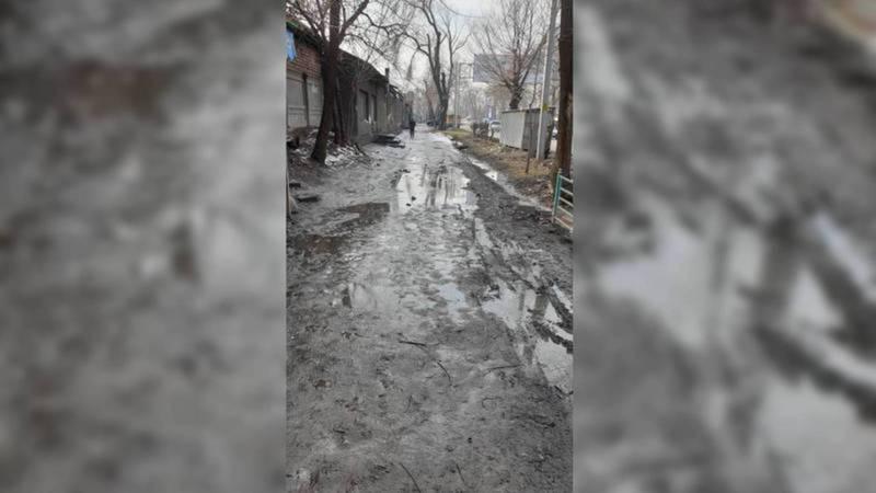 Тротуара на ул.Л.Толстого нет в титульном списке ремонта, горожанам необходимо обратиться в районный акимиат