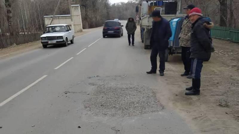 Подрядчик за свой счет устранил недостатки на дороге Талас - Кок-Ой, - Министерство транспорта и дорог