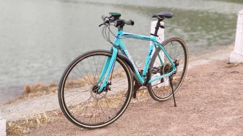 В доме по ул.Суванбердиева украли велосипед Merida Discover. Фото