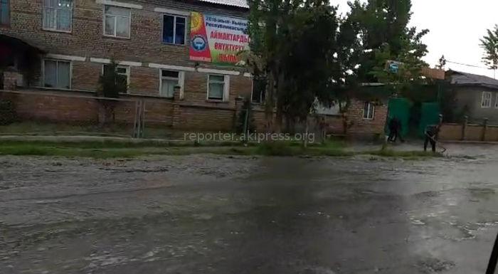 Проливные дожди затопили центральные улицы Нооката <i>(видео)</i>