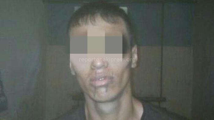 Фото — Зашитый рот осужденного в колонии №3 в Новопокровке