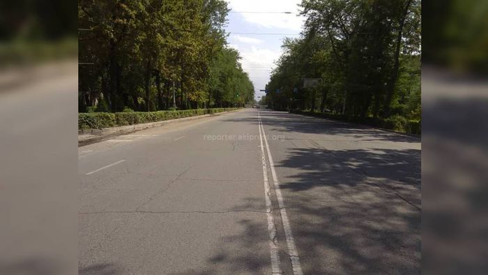 Когда начнутся дорожные работы по проспекту Айтматова на перекрытом участке