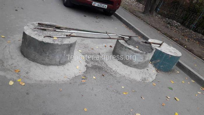 УЗС просит читателя указать точный адрес, где расположены бетонные блоки в 11 мкр