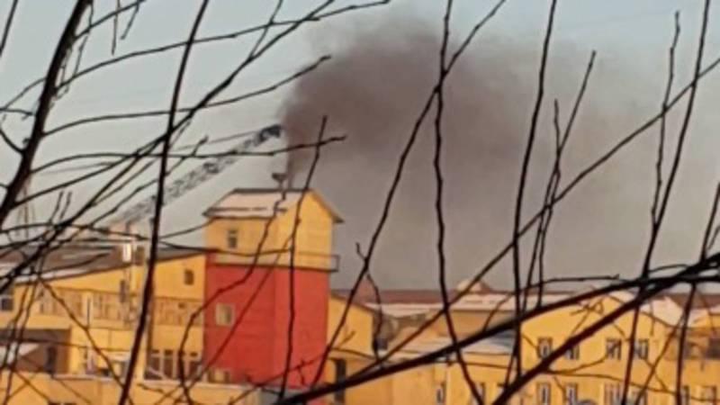 Дым бани в Бишкеке. СЭИ рекомендует жителю обратиться в Госэкотехинспекцию