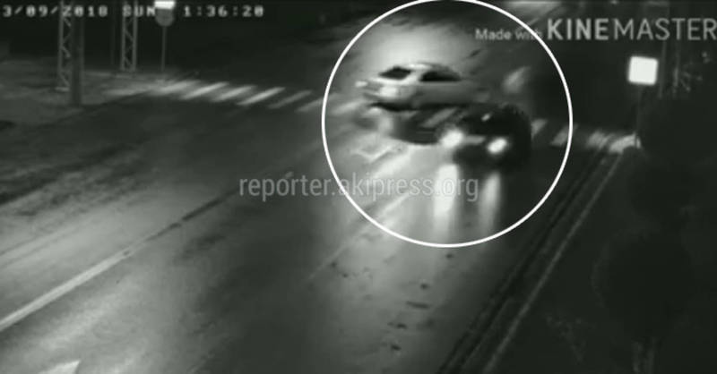 «Безопасный город» в Балыкчы: Видеокамеры сняли множество ДТП