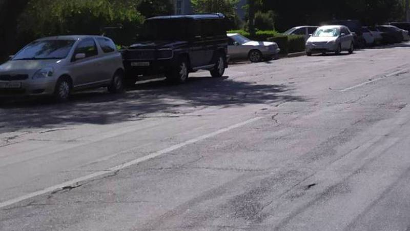 Бишкекчанин интересуется, когда будет отремонтирована улица Московская?